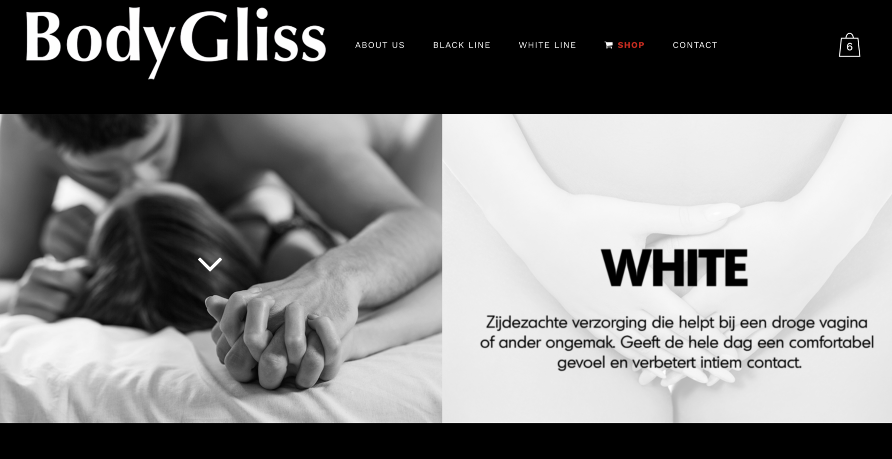 Bodygliss website restyle