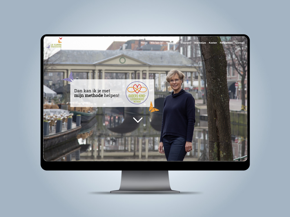 Website - Lia Vlaming Kindercoaching