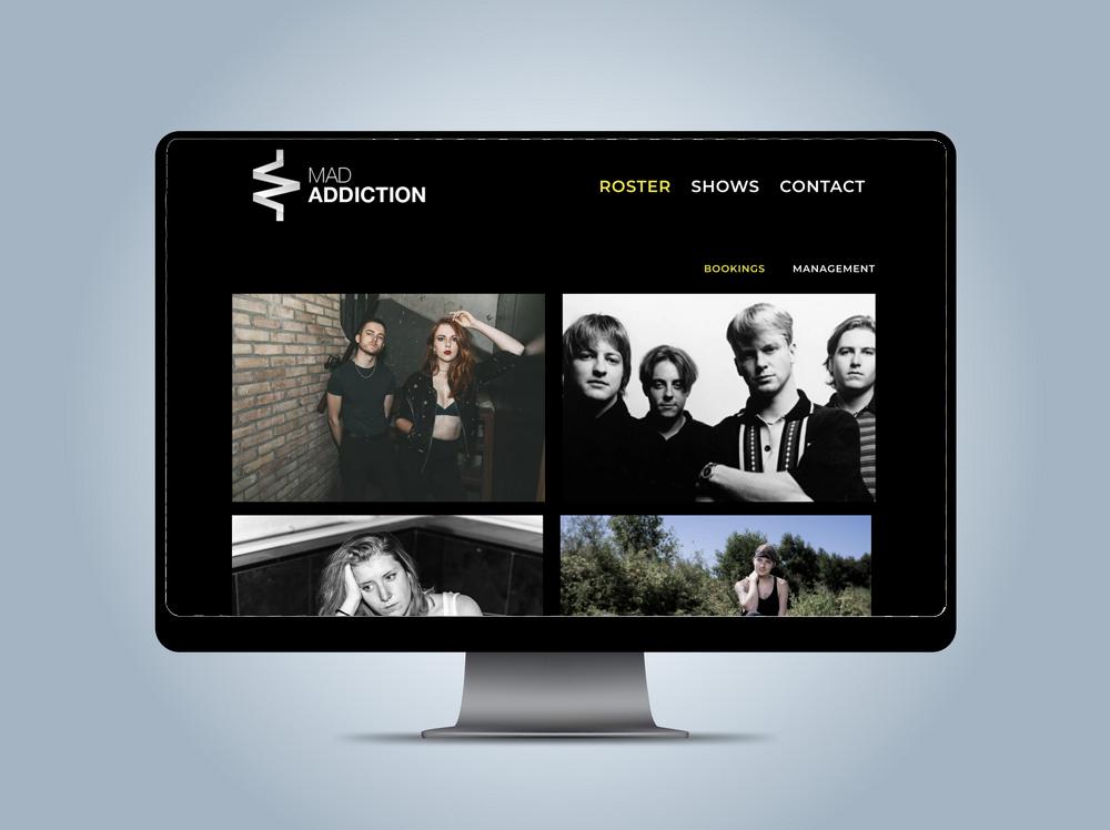 Mad Addiction - Website - Subblicious